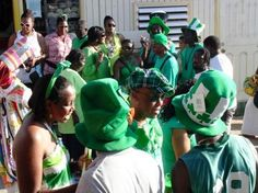 Montserrat, British West Indies Island - This tiny island holds a week-long celebration of Irish culture which culminates on 17th March. The festival is also a commemoration of the slave uprising of 17th March 1768 on the island.