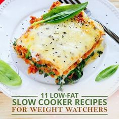 11 Low-Fat Slow Cooker Recipes for Weight Watchers  #weightwatchersrecipes #wwcrockpotrecipes