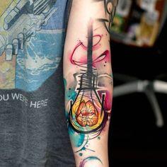 Lightbulb Tattoo