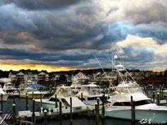 Ocean City, Maryland - Before the snow storm - Photography by Cary Weaver