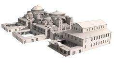 Basílica Hagia Sophia em Istambul    Construída no centro político e cultural do império bizantino, a basílica Hagia Sophia foi durante m...
