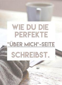 """Wie du die perfekte """"Über Mich"""" Seite schreibst  #tipps# guide #hilfe #tutorial #erfolgreich"""