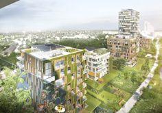 DNA und Community - 300 Wohnungen in Gent von KCAP geplant