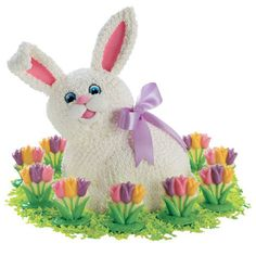Find great ideas, recipes & all the supplies you'll need at wilton.com including Tiptoe Through Tulips Cake.