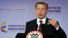 Santos recibe a Uribe en un intento de destrabar el plan de paz - LA NACION (Argentina)