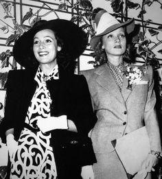 Dolores del Rio and Marlene Dietrich, c.1939