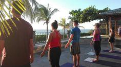 Private Sunset Yoga class at Casa Arrecife