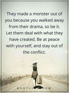 Oh, but they will try an drag you back into the fray using their arsenal of toxic maneuvers. Stay strong.