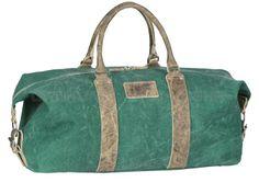 Greenburry AVIATOR Canvas / Leder - Reisetasche Weekender Sporttasche - schwarz, rot, blau, grün 1160