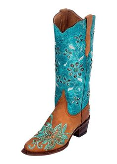 Ferrini Women's Star Power Cowgirl Boot Pointed Toe - 8476150 -- To view further, visit now : Cowgirl boots