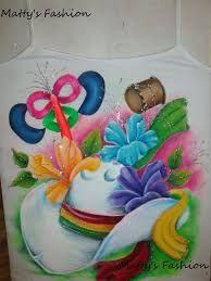 Resultado de imagen para camisetas de carnaval pintadas a mano Fabric Painting, Seersucker, Art Drawings, Birthday Cake, Halloween, Crafts, Ideas, Painting On Fabric, Toddler Girls