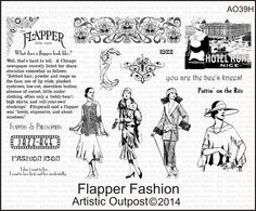 Artistic Outpost Flapper Fashion