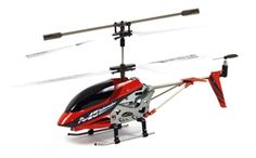 Skytech M5 Mini 3.5 Channel LED Light RC Helicopter w/ Gyro - Red: $29.99