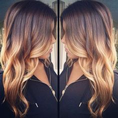 The 5 Most Gorgeous Hair-Color Ideas for Brunettes Ombré Hair, Hair Dos, Wave Hair, My Hairstyle, Pretty Hairstyles, Ombre Hair Color, Blonde Ombre, Hair Colors, Great Hair