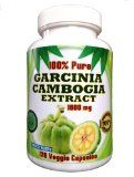 ★ Garcinia Cambogia Extract 1600mg - 120 Veggie Capsules - 100% Pure - PREMIUM QUALITY! ★ (60% More Strength Than Regular 1000mg Products) - Highest Potency - Get More for the Money! ★ No Artificial Ingredients - 60%