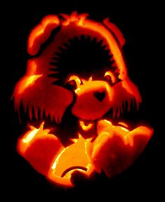 Care Bear Pumpkin by hondahb6 on deviantART