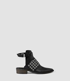 Womens Yannis Shoe (Black) - product_image_alt_text_1