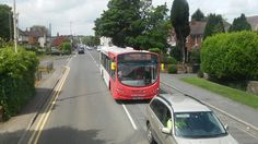 National Express Bus on the 81 to Merry Hill Centre.