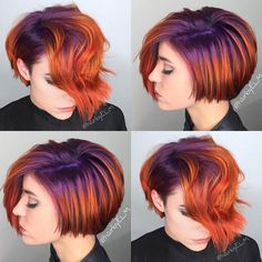 getfussy:  STYLIST SPOTLIGHT: currently obsessed with this color job    styled by @hairbyelm