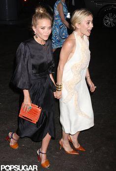 MK & A .. I am loving the white dress!!