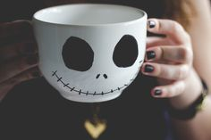D.I.Y: Jack Skellington mug