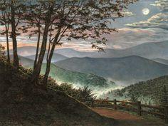 'Smokey Mountain Twilight' ... Teresa Pennington (tpennington.com) ... Mountain Heritage Arts and Crafts Festival