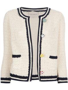 gradient-baby-vest-made-crochetsweaterpatternwomen-mesh-womens-vest-fashion/ - The world's most private search engine Gilet Crochet, Crochet Coat, Crochet Jacket, Crochet Cardigan, Crochet Clothes, Crochet Baby, Sewing Clothes Women, Mode Chanel, Jacket Pattern