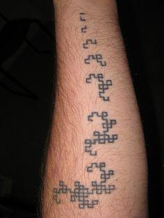 Tattoo, Dragons 1-8 by reversefold, via Flickr