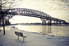 Blue Water Bridge - Port Huron, Michigan to Sarnia, Ontario, Canada
