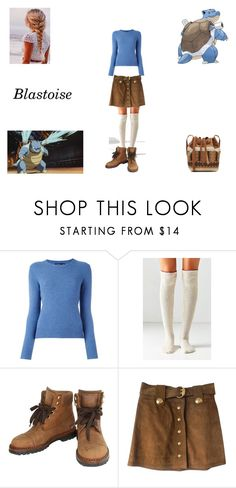 """Pokemon - 009 Blastoise"" by alexiszaailove ❤ liked on Polyvore featuring Polo Ralph Lauren, Out From Under, Chanel, Gucci and Vanessa Bruno"