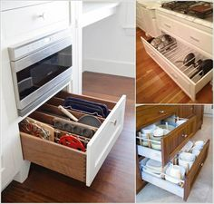 10 Clever Ways to Divide Your Kitchen Drawers a