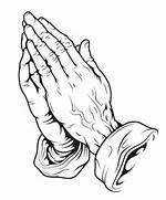 Printable Praying Hands - Coloring Home