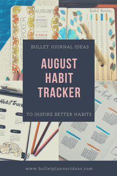 August Habit Tracker Bullet Journal Ideas - New Year's resolutions aren't the only time you can choose to reinvent yourself. Whether reading more, finding the time to meditate or creating an exercise routine these layouts and designs will help you keep focused. Tracking your habits allows you time to review and reflect on what you are doing right and wrong. Click to read more.
