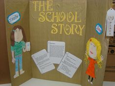 Reading Fair Projects going to Reading Fair, 5th Grade Reading, Fair Projects, School Projects, Reading Projects, Book Displays, Presentation Boards, Science Fair, 5th Grades