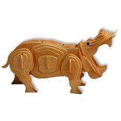 3-D Wooden Puzzle - Hippopotamus -Affordable Gift for your Little One! Item #DCHI-WPZ-M019 All4LessShop,http://www.amazon.com/dp/B004QDXS3S/ref=cm_sw_r_pi_dp_LxYDtb0J3K6QGBEC