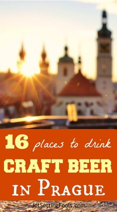 The Czech Republic is many things – it's history, architecture, art…and it's beer. The country is the birthplace of the pilsner and Prague has long had a reputation as the beer capital of the world. Beer, which often costs less than a bottle of water, is for sale in every nook and cranny of the historic gothic city.