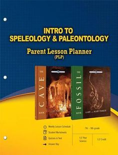 Intro to Speleology & Paleontology Parent Lesson Plan
