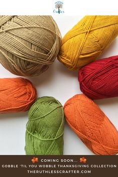 Coming very soon is the newest Gobble 'Til You Wobble Thanksgiving Collection! Click the image to be notified when it's live! Gobble Til You Wobble, Yarn Crafts, Handmade Toys, Gift For Lover, Fiber Art, Gift Guide, Invite, Children, Kids