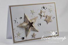 Bildergebnis für stampin up weihnachten Christmas Tag, Xmas, Advent, Star Cards, Tag Art, Stampin Up, Paper Crafts, Clock, Invitations