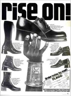 Funky Mens 70's Shoes