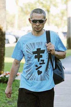【画像】イチロー、クッソ寒いTシャツをドヤ顔で披露wwwwwwww : 【2ch】ニュー速クオリティ Buy T Shirts Online, Japanese Quotes, Funny Tshirts, Shirt Designs, Tee Shirts, Graphic Sweatshirt, Guys, Sweatshirts, Mens Tops