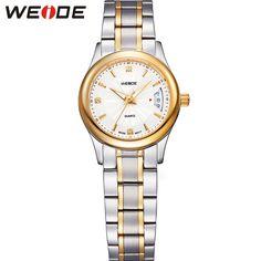 >> Click to Buy << WEIDE Original High Quality Watch Women Luxury Brand Round Case Analog Quartz Movement Silver Stainless Steel Relogio Feminino #Affiliate
