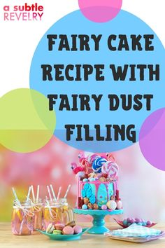 What cake is both fun and magical? Fairy cake with fairy dust filling! A Subtle Revelry has a step-by-step easy-to-follow recipe that is filled with delight and surprise. A homemade cake with a professional baker appearance. Everyone will be impressed. Especially your little princess who will be thrilled. A delicious delicacy to put a smile on everyone's face. Check out their expressions when they see the surprise waiting inside. Download here... #fairycake #fairydustfilling #princesscake Love Balloon, S'mores Bar, Fairy Cakes, Colourful Balloons, Feeding A Crowd, Fairy Dust, For Your Party, Yummy Appetizers, Homemade Cakes