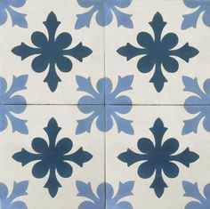 Handmade cement encaustic tiles.  Geométrico Spanish design, ,Hydraulic Authentic Andalusian Tiles for both the floor and wall. MOD-139