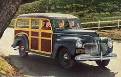Oh classic Woodies, how I love you! #vintage #cars #1940s