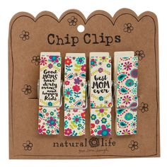 Best Mom Ever Chip Clips