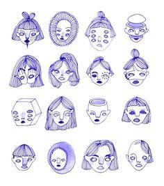 Illustration Sketches, Art Sketches, Art Drawings, Tattoo Sketches, Art Inspo, Art Du Croquis, Arte Sketchbook, Aesthetic Art, Love Art