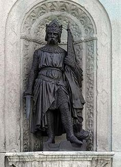 Fulk V of Anjou  (1092 -1143) King of Jerusalem, Duke of Normandy and Knight Templar. My direct line GGF many times over.