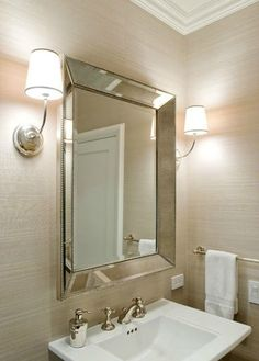 See and enjoy ideas about Bathroom mirrors on termin(ART)ors.com. | You'll see something you might not see it before. :)  The picture we use as a PIN here is from: https://www.decorpad.com/photo.htm?photoId=117859
