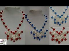 #17 How to Make Pearl Beaded Necklace || Diy || Jewellery Making - YouTube